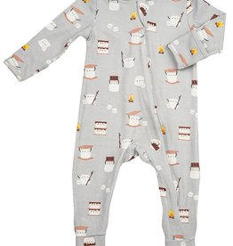 Angel Dear Zipper Footie - S'mores
