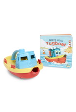 Green Toys Green Toys - Tugboat and Board Book