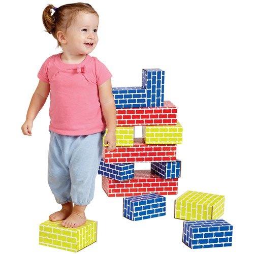 Edushape Corrugated Blocks - 52 pc