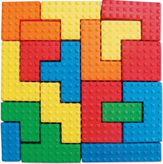 Edushape Sensory Puzzle Blocks