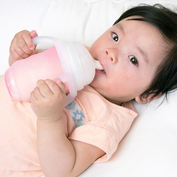 Olababy Olababy - GentleBottle Silicone Teether Bottle Handle - Frost