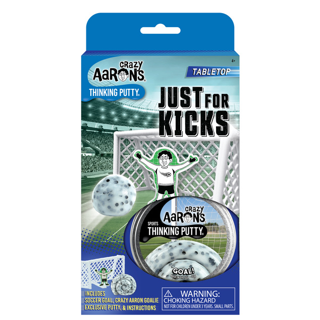 "Crazy Aaron's Thinking Putty Tin 2.75"" - Just For Kicks - Sports Putty"