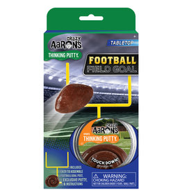 "Crazy Aaron's Thinking Putty Tin 2.75"" Football Field Goal - Sports Putty"