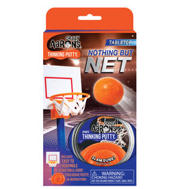 "Crazy Aaron's Thinking Putty Tin 2.75"" Nothing But Net - Sports Putty"