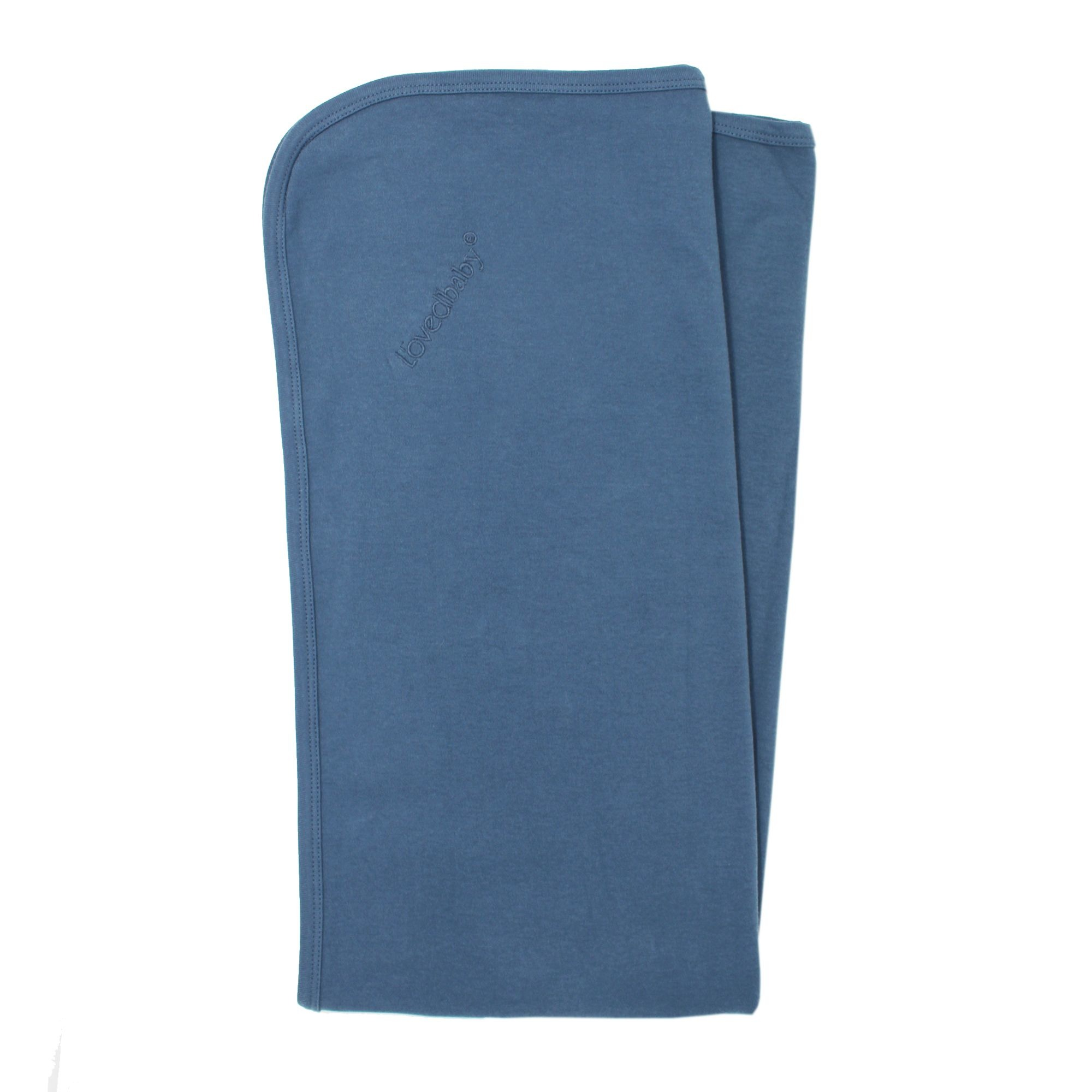 Loved Baby Loved Baby - Swaddling Blanket - Abyss