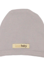 Loved Baby Loved Baby - Cute Cap - Light Gray