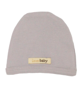 Loved Baby - Cute Cap - Light Gray