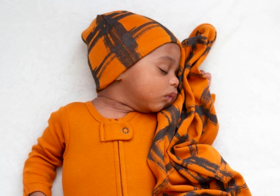 Loved Baby Loved Baby - Reversible Beanie - Butternut Plaid