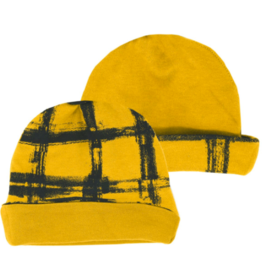 Loved Baby Loved Baby - Reversible Beanie - Citrine Plaid