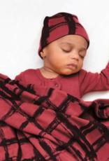 Loved Baby Loved Baby - Swaddling Blanket - Appleberry Plaid