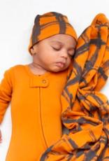 Loved Baby Loved Baby - Swaddling Blanket - Butternut Plaid