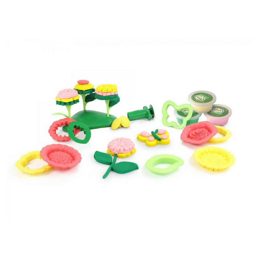 Green Toys Green Toys - Flower Maker Dough Set