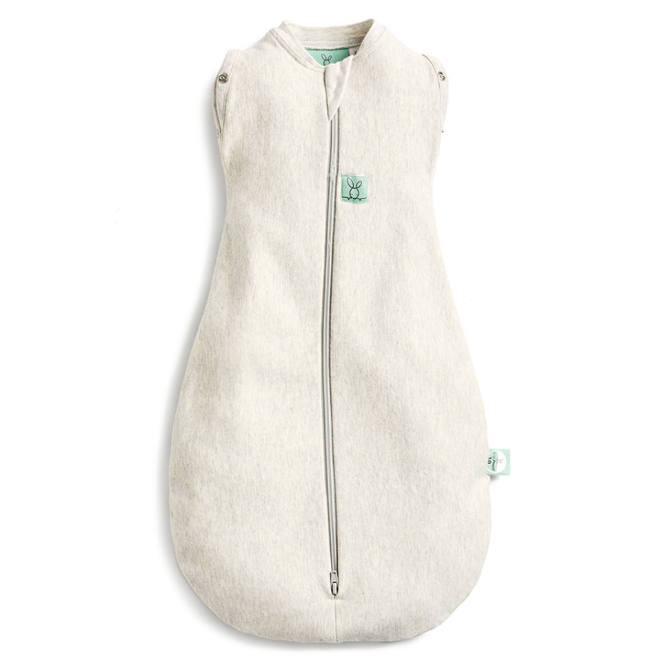 ergoPouch Cocoon Swaddle Bag - 1.0 TOG - Grey Marle