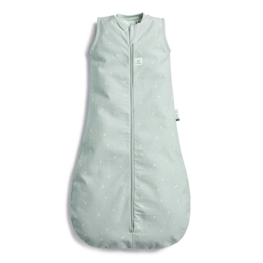 ergoPouch Jersey Sleeping Bag - 1.0 TOG - Sage