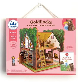 Storytime Toys Goldilocks and the Three Bears Book & Playset