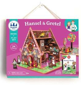 Storytime Toys Hansel & Gretel Book + Playset