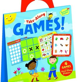 Peaceable Kingdom Take-A-Long Game Sticker Tote
