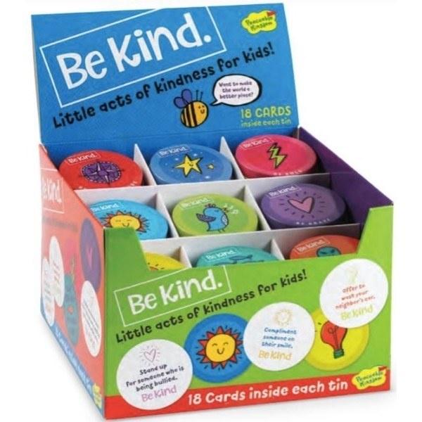 Peaceable Kingdom Be Kind Tin