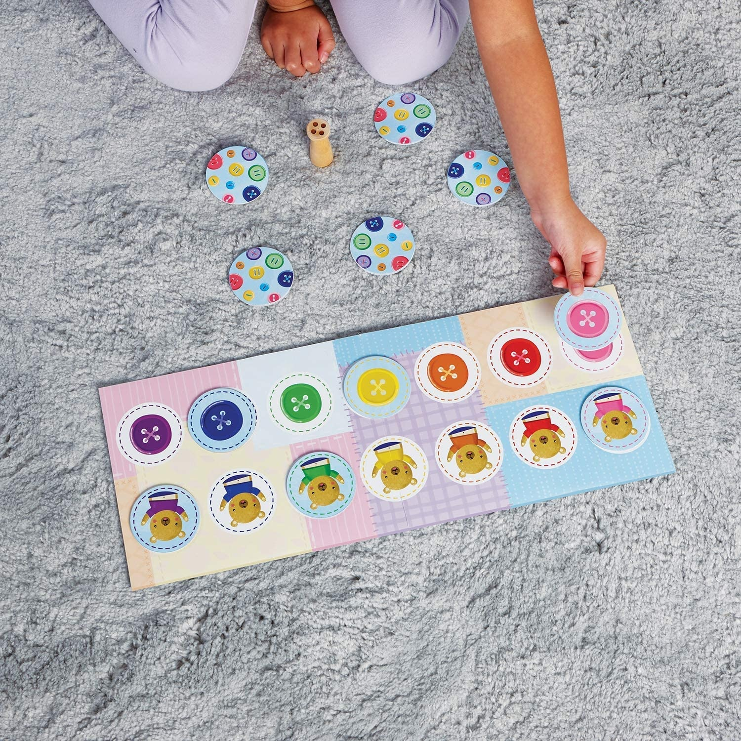 Peaceable Kingdom Button, Button, Belly Button Game