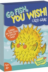 Peaceable Kingdom Go Fish, You Wish Card Game