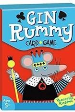 Peaceable Kingdom Gin Rummy Card Game
