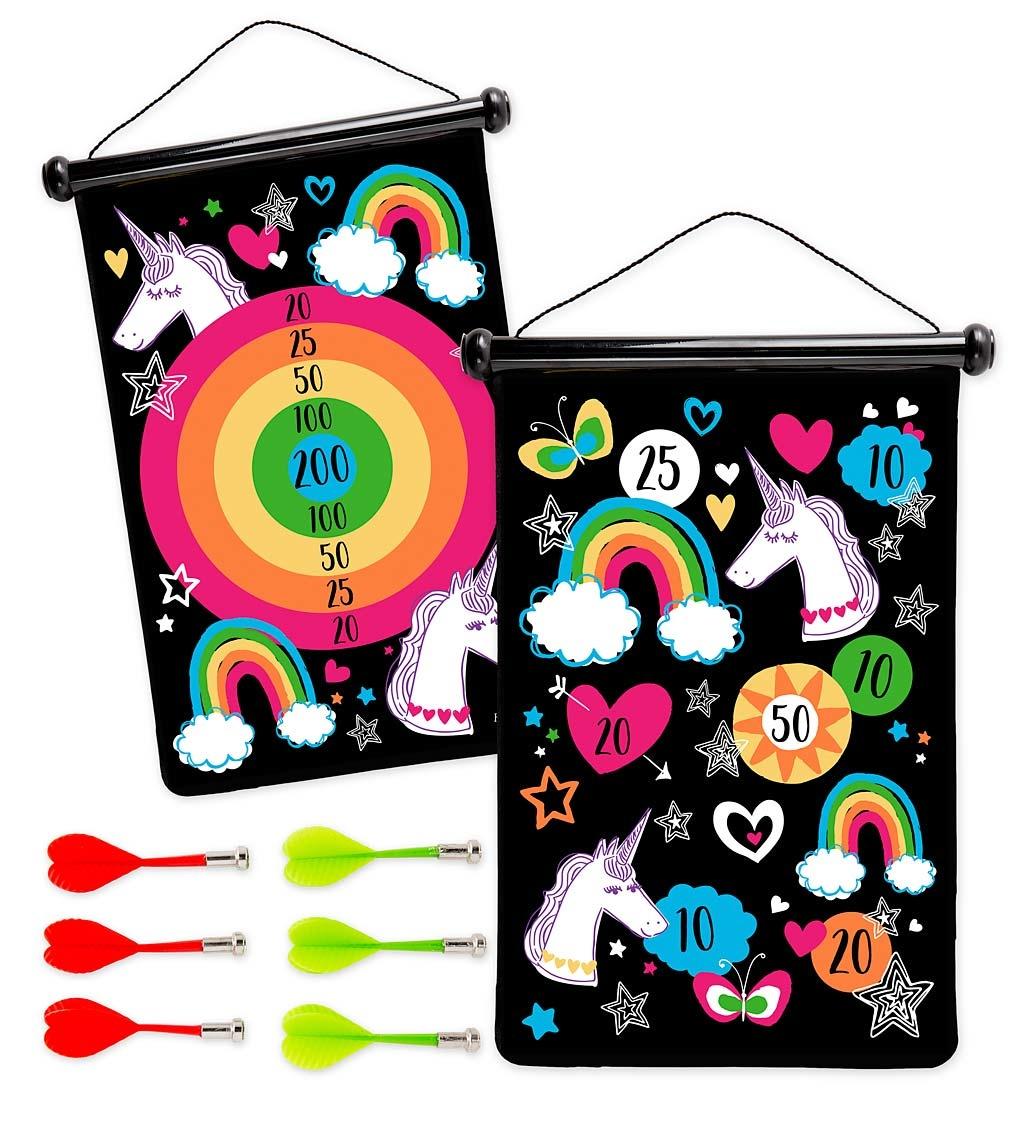 Hearthsong Unicorn Magnetic Target Game