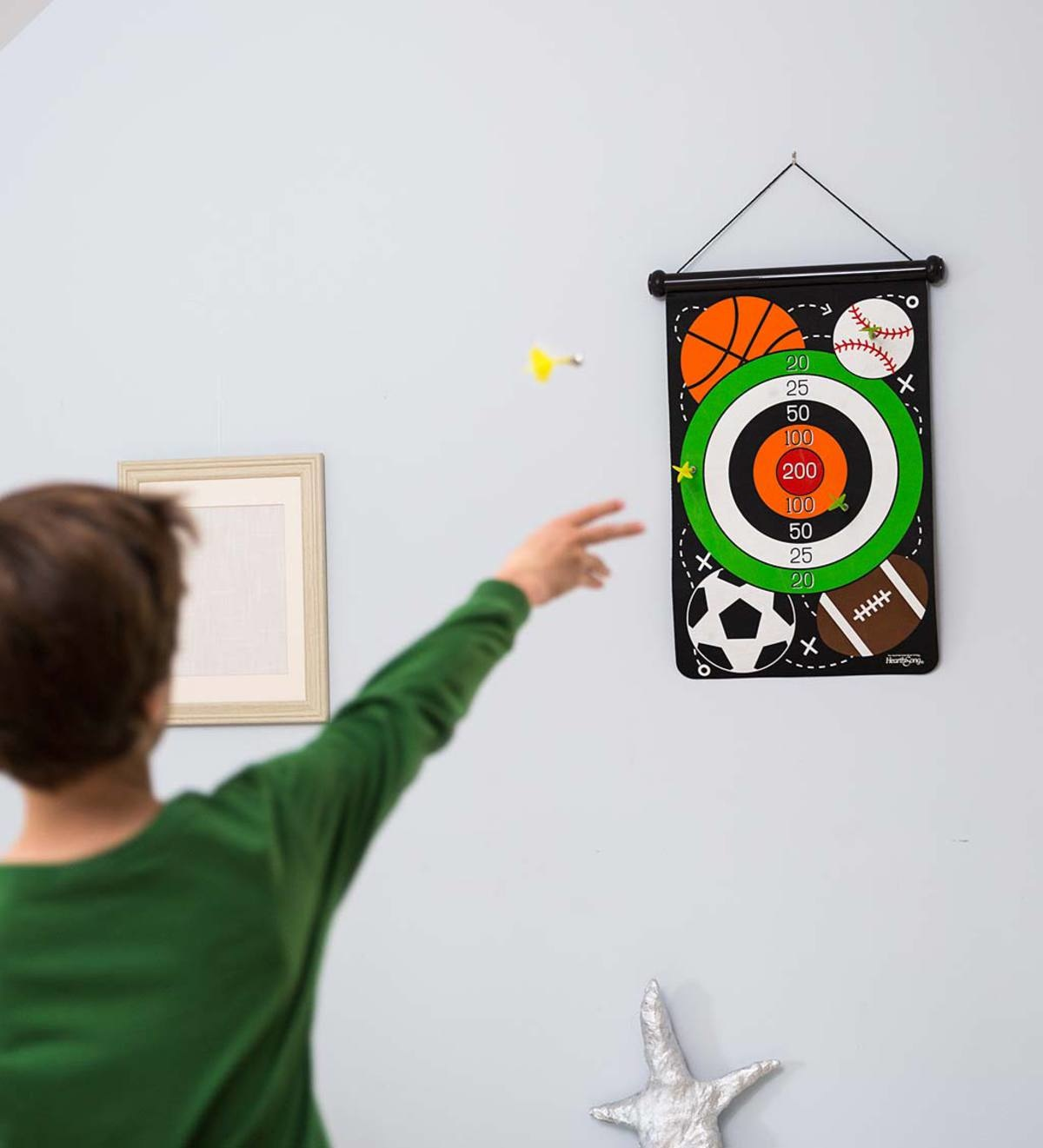 Hearthsong Superhero Magnetic Target Game