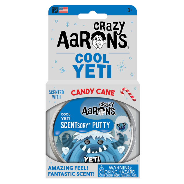"Crazy Aaron's - Scentsory Putty Tin 2.75"" - Cool Yeti"