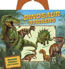 Peaceable Kingdom Dinosaur Sticker Tote