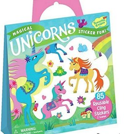 Peaceable Kingdom Magical Unicorn Sticker Tote