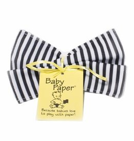 Baby Paper - Black & White Stripe