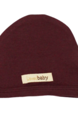 Loved Baby Loved Baby - Organic Cute Cap - Eggplant