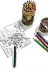 Dinosaur Colored Pencil Set