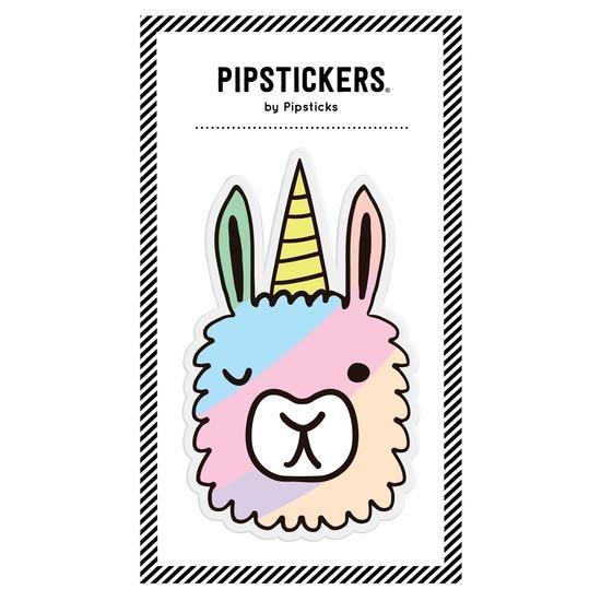 PipStickers Big Puffy Llamacorn Sticker