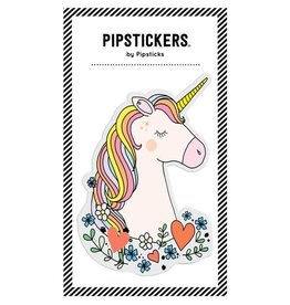 PipStickers Big Puffy Unicorn Sticker