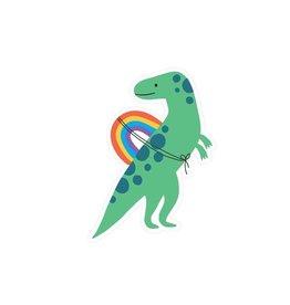 Rainbow Rider Vinyl Sticker