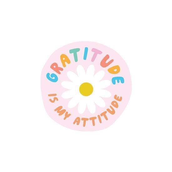 PipStickers Gratitude Is My Attitude Sticker Sheet