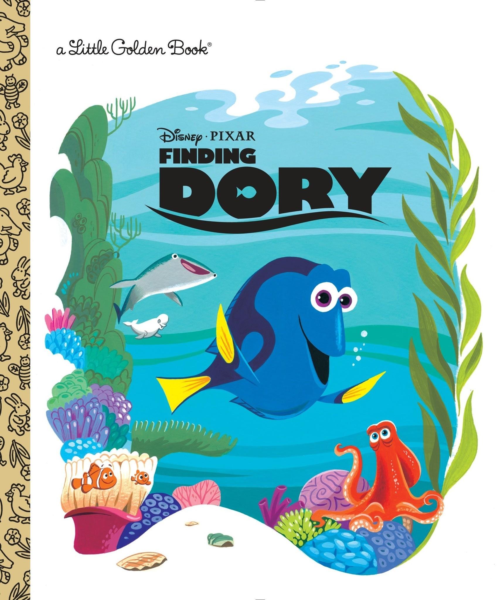 Little Golden Book - Finding Dory