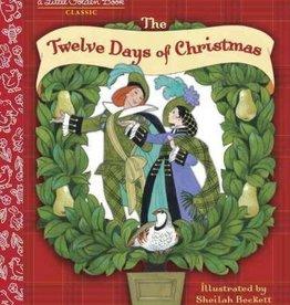 Little Golden Book - Twelve Days of Christmas