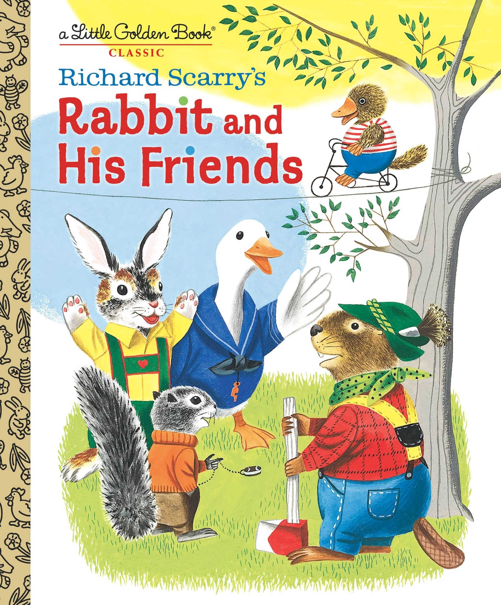 Little Golden Book - Richard Scarry's Rabbit and His Friends LGB