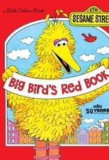 Little Golden Book - Big Bird's Red Book