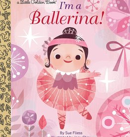 Little Golden Book - I'm a Ballerina!