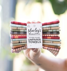 Marley's Monsters Unpaper Towels - Plaid 12-pack