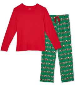 Magnetic Me Magnetic Me - Modal - Holly Folly Jolly Men's Pajama Set