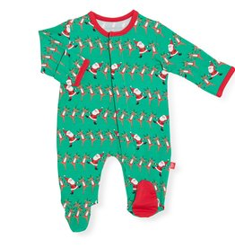 Magnetic Me Magnetic Me - Modal Footie - Holly Folly Jolly