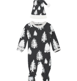 Loved Baby Loved Baby - Organic Footie & Cap Set - Timbrrr