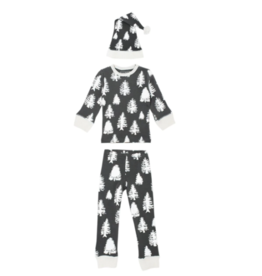 Loved Baby Loved Baby - Organic Kids Long Sleeve PJs & Cap Set - Timbrrr