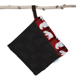 Thirsties Thirsties - Wet Dry Bag - Polar Plaid