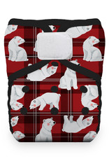 Thirsties Thirsties - One-Size Natural Pocket H&L - Polar Plaid