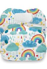 Thirsties Thirsties - Natural Newborn AIO H&L - Rainbow